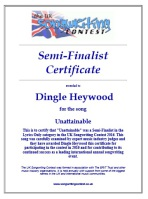 songwriting competition semi-finalist