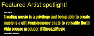 featured artist music blog